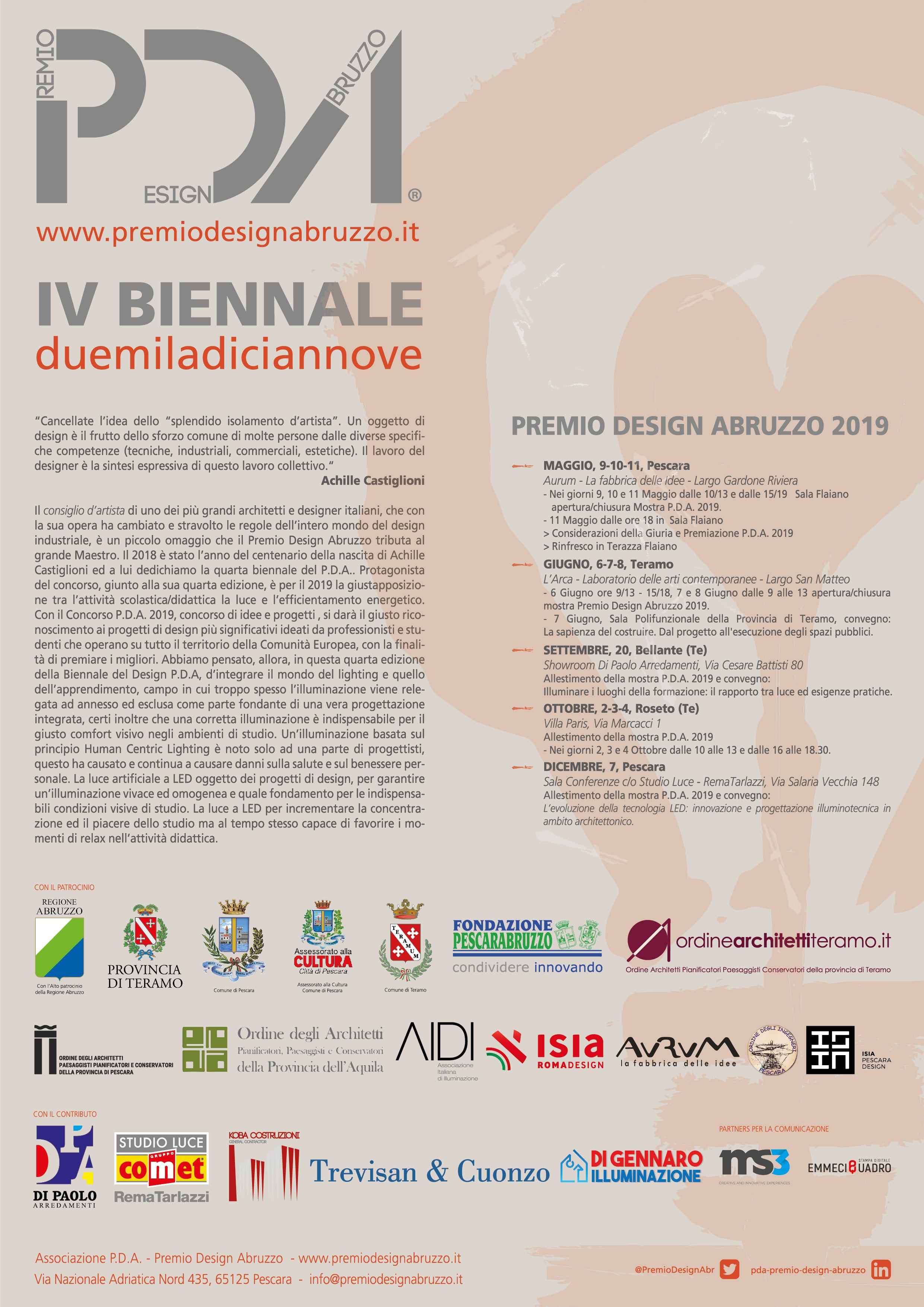La mostra della IV Biennale P.D.A. 2019 | Premio Design ...